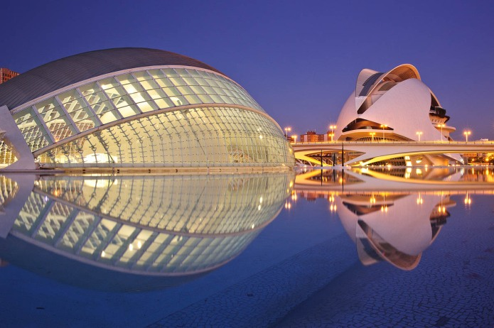 Santiago Calatrava's The eye, Hemispheric