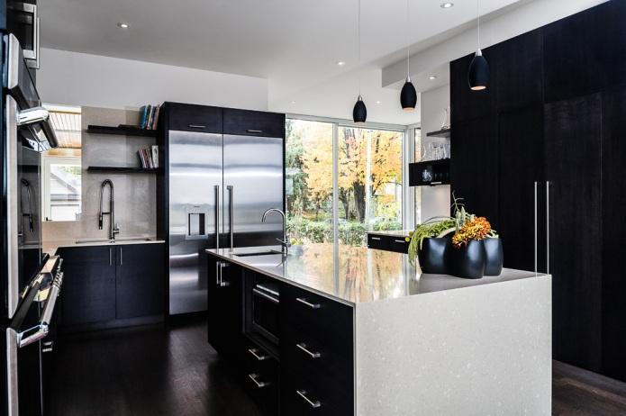 Chris Simmonds kitchen Ottawa River House
