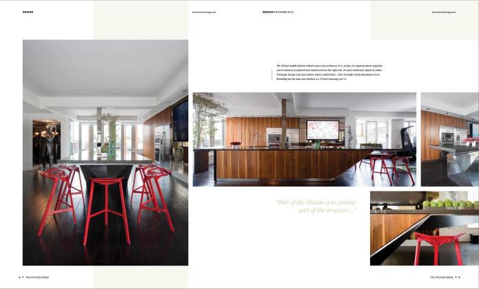 toronto home magazine Kitchen issue 2013