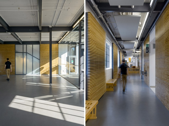 Canada Agriculture museum was renovated by GRC Architects and Baird Sampson Neuert Architects - Interior Hallways