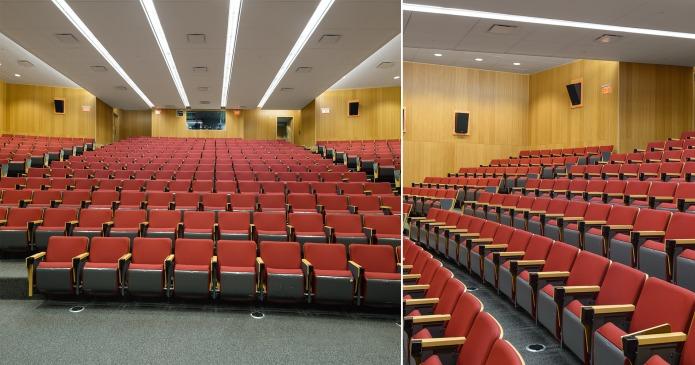 ottawa architectural photography moriyama teshima education institution carleton university river building theatre