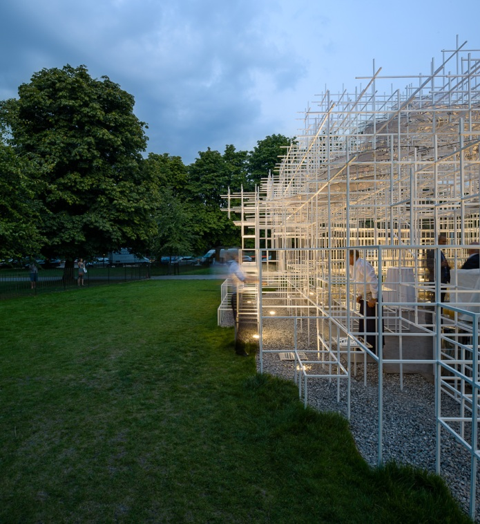 68-doublespace architectural photography london   Serpentine Pavillion Sou Fujimoto-