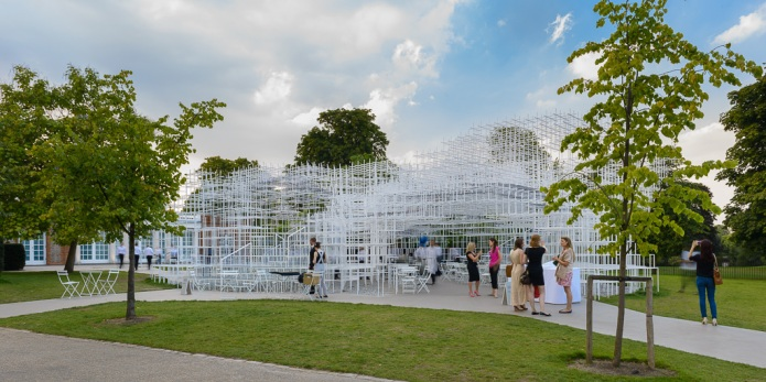 8-doublespace architectural photography london   Serpentine Pavillion Sou Fujimoto-