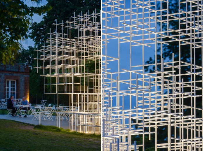 91-dipdoublespace architectural photography london   Serpentine Pavillion Sou Fujimoto-