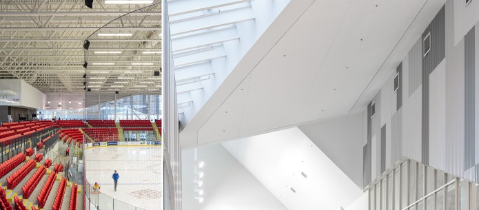 Rath Eastlink Truro Perkins Will doublespace architecture photography Hockey Arena