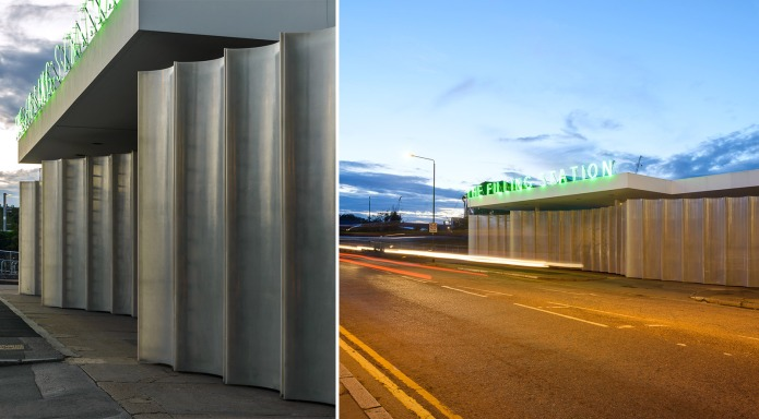 doublespace architectural photography london KXFS Filling Station Carmody Groake Londong KXFS