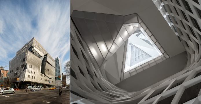 Thom Mayne's Morphosis firm designed the new Cooper Union building in NYC