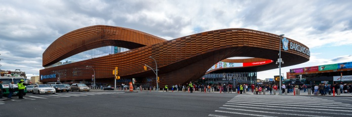 ShoP Architects designed the Barclays Centre in Brooklyn