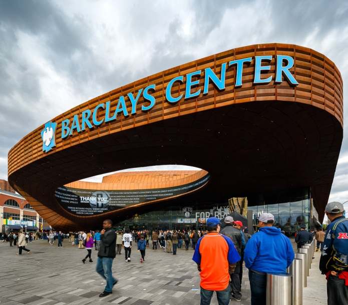 Under the Canopy of the Barclays Centre - SHoP Architects